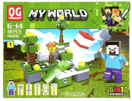 Конструктор Minecraft Ремесло 101 деталь IT656-1
