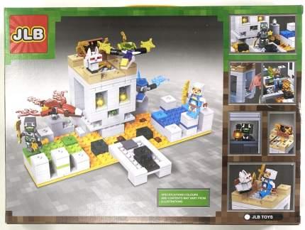 Конструктор JLB Minecraft Нападение 305 деталей IT3D88