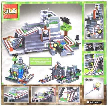 Конструктор JLB Minecraft Замок 1117 деталей IT3D84