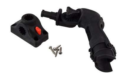 Подставка под удочку в комплекте с креплением МТ101, черная (CFRН302)