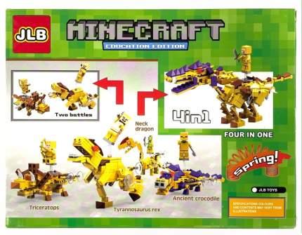 Конструктор JLB Minecraft Динозавр 104 детали IT3D77-3
