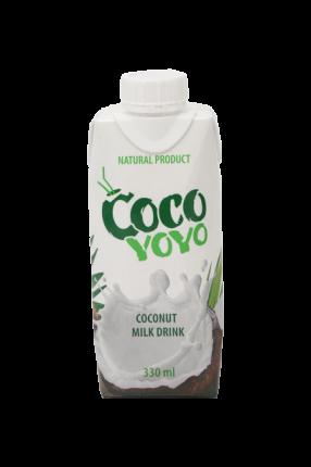 Кокосовое молоко Cocoyoyo обогащенное кальцием 330 мл