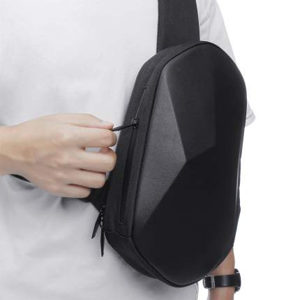 Рюкзак-сумка Xiaomi Tajezzo BEABORN Polyhedrone Chest Bag черный