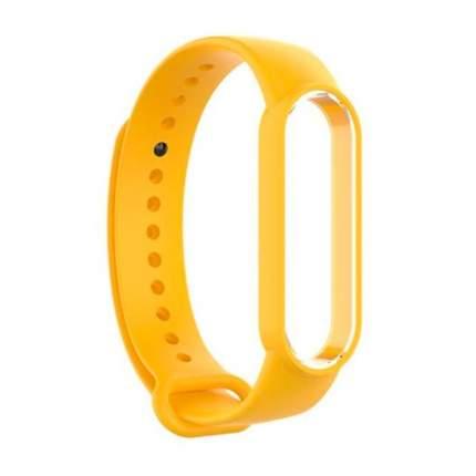 Ремешок NoName Silicone для смарт-браслета Xiaomi Mi Band 5 Yellow