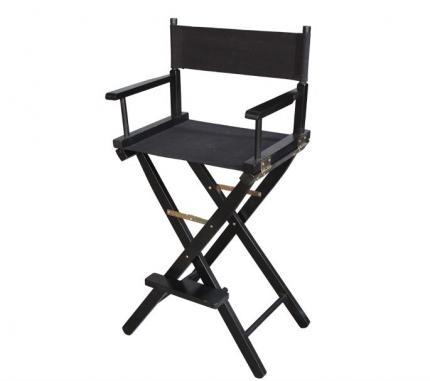 Разборный деревянный стул визажиста из дерева
