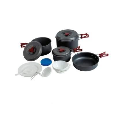 Набор посуды, аннодированный алюминий 4-5 перс.TRAMP (TRC-026)