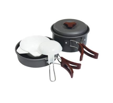 Набор посуды на 2 персоны, аннодированный алюминий TRAMP (TRC-025)