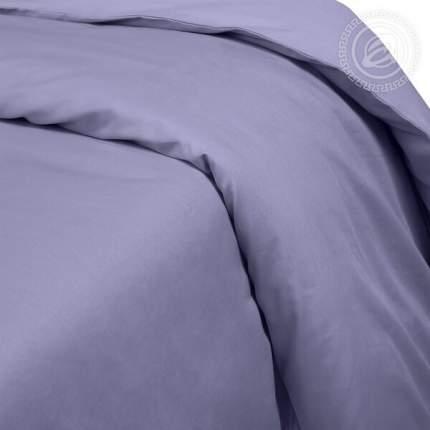 Пододеяльник из сатина (Фиолетовый) 1,5-спальный на молнии