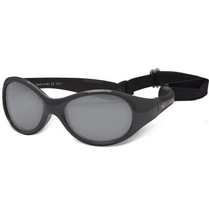 Солнечные очки для малышей Real Kids Explorer 0+ графит, черный