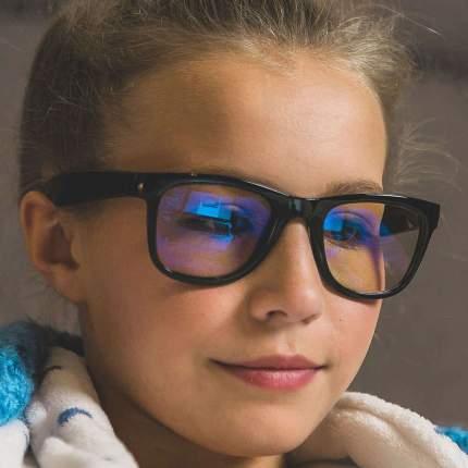 Компьютерные очки для детей 7+ Screen Shades Real Kids Черные