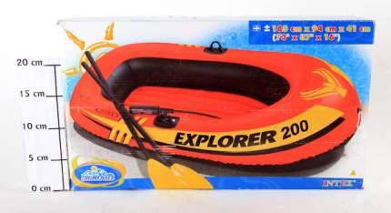 Лодка Intex Исследователь 200 И58331-GW 1,85 x 0,94 м orange