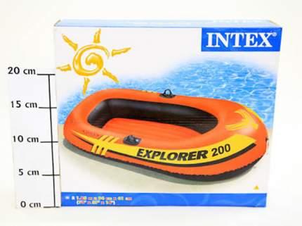 Лодка Intex Исследователь 200 И58330-GW 1,85 x 0,94 м orange