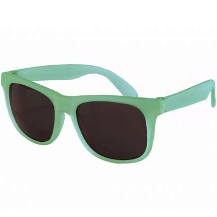 Солнечные очки для малышей Real Kids Switch 2-4 года зеленый, фиолетовый
