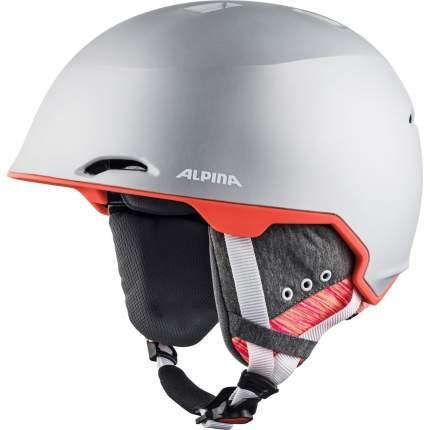 Горнолыжный шлем Alpina Maroi 2021, silver/flamingo matt, S/M