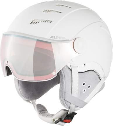 Горнолыжный шлем Alpina Jump 2.0 Qvm 2021, white/grey matt, S/M