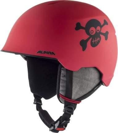 Горнолыжный шлем Alpina Maroi Jr 2020, red/skull matt, S/M