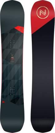 Сноуборд Nidecker Merc 2021, black/red, 156 см