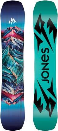 Сноуборд Jones Twin Sister 2021, black/blue, 140 см