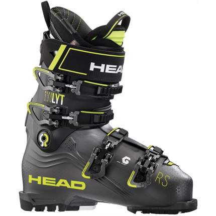 Горнолыжные ботинки Head Nexo Lyt Rs 130 2020, anthracite/yellow, 28