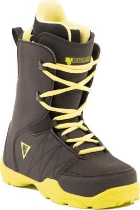 Ботинки для сноуборда BF snowboards Techno 2020, yellow/black, 20.5