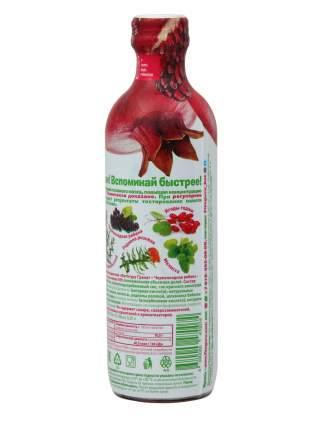 Напиток сокосодержащий Фитогуру гранат -черноплодная рябина-мелисса 12 бутылок