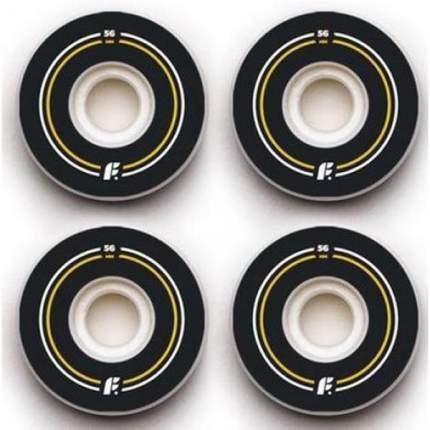 Колеса (4 Штуки) Для Скейтборда Footwork Basic (Side Cut Shape, 100A) 56 Mm (Б/Р)