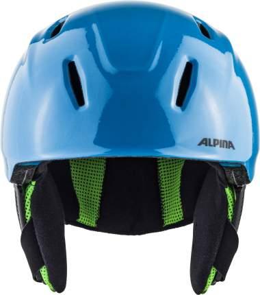 Горнолыжный шлем Alpina Carat Lx 2021, green/blue/grey, S