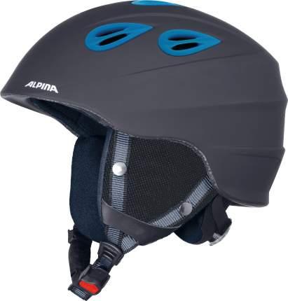Горнолыжный шлем Alpina Junta 2.0 C 2021, black matt/blue, XL