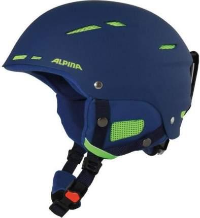 Горнолыжный шлем Alpina Smu Biom 2021, navy matt, M/L