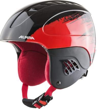 Горнолыжный шлем Alpina Carat 2021, black/red, S/XS