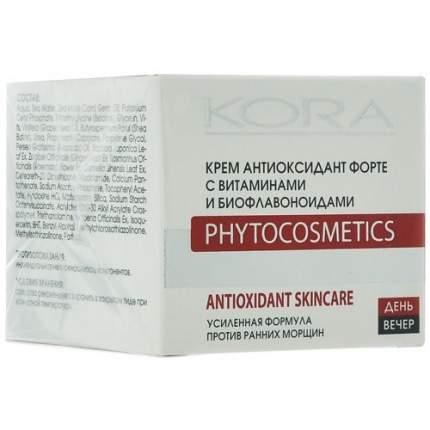 Крем антиоксидант КОРА Форте с витаминами и биофлавоноидами, 50 мл