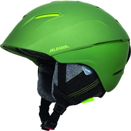 Горнолыжный шлем Alpina Cheos 2019, moss-green matt, M