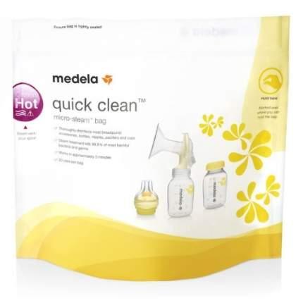 Пакеты для стерилизации в микроволновой печи MEDELA Quick Clean, 5 шт. (008.0065)