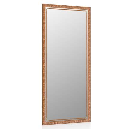 Зеркало ЕвроЗеркало 119С орех Т2, греческий орнамент, 45х100 см