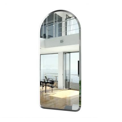 Зеркало ЕвроЗеркало 074Ф, 40х90 см., с полным фацетом, толщина зеркала 4 мм.