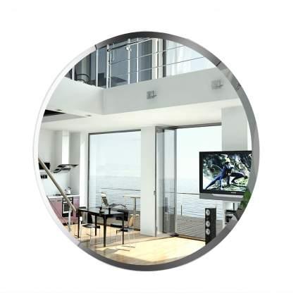 Зеркало ЕвроЗеркало 057Ф, 55х55 см., с полным фацетом, толщина зеркала 4 мм.