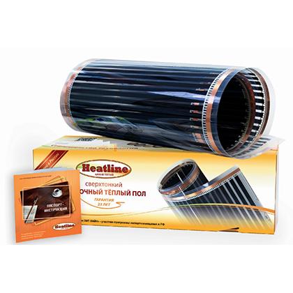 Пленочный теплый пол Heatline HLS-150-3.0 м.кв