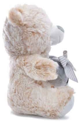 Мягкая игрушка Мишка с сердцем Бантик CoolToys IM1618-25LIGHT BROWN