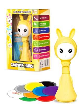 Интерактивная развивающая игрушка BertToys Зайчик няня желтая