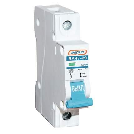 Автоматический выключатель 1P 16A ВА 47-29 Энергия
