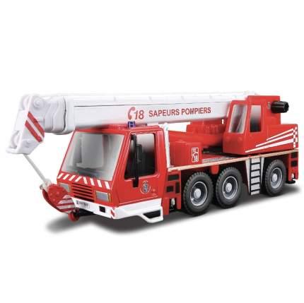"""Bburago Коллекционный пожарный кран 1:50 """"Sapeurs Pompiers Crane"""" 18-32010"""