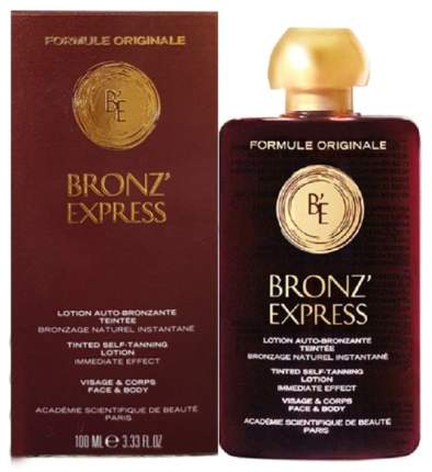 Лосьон-автозагар для лица и тела Academie Lotion Bronz'Express 100 мл