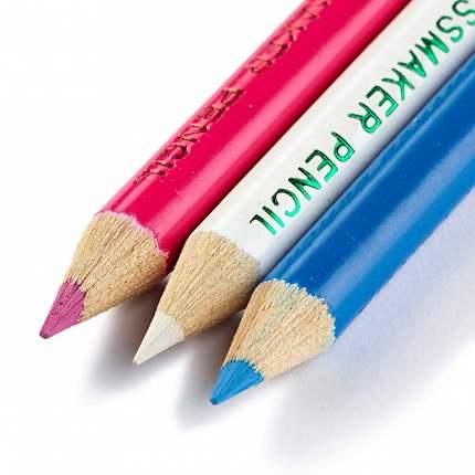 Меловые карандаши PRYM  белый/розовый, 11см, 611627
