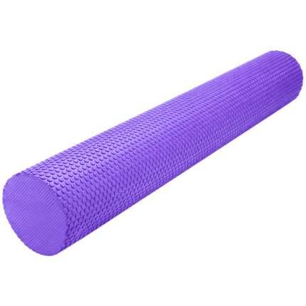 B31603-7 Ролик массажный для йоги (фиолетовый) 90х15см.