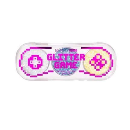 Палетка глиттеров для лица и тела Beauty Bomb «Glitter Game» тон 01