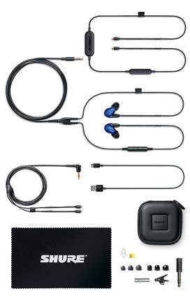 Беспроводные наушники Shure SE846-BLU+BT1-EFS Blue