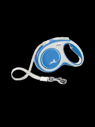 Поводок-рулетка Flexi New Comfort tape M 5m 25kg синий