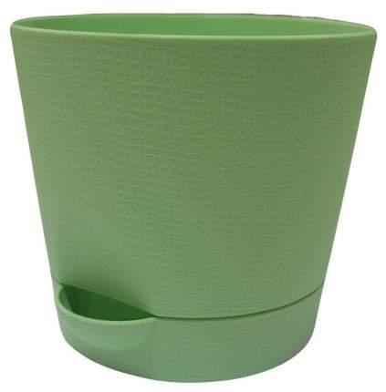 Горшок для цветов с поддоном Le Parterre d=15, 1,4 л/зеленый