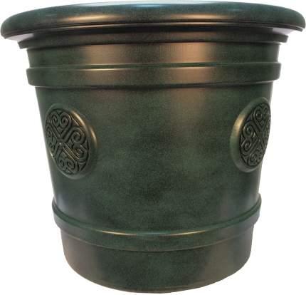 Горшок-кашпо для цветов Medallion d=50 40 л Малахит