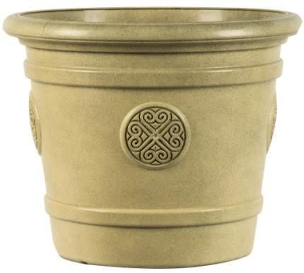 Горшок-кашпо для цветов Medallion d=50 40 л Св. терракот